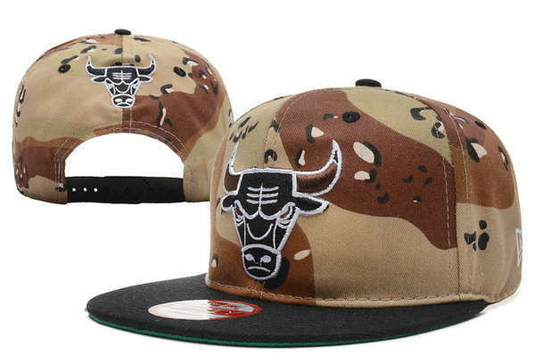 Chicago Bulls Snapback Hat XDF 47